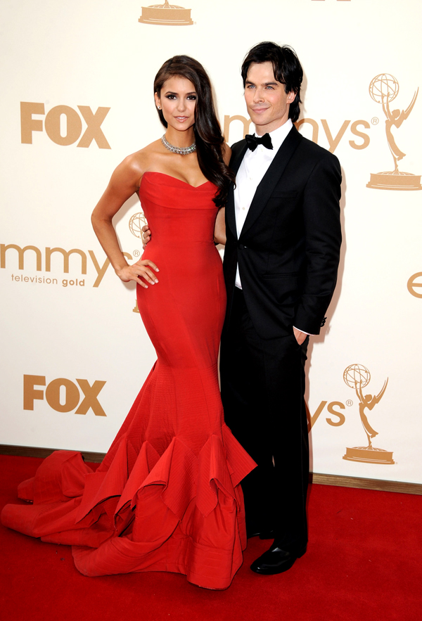post nian nina dobrev  ian somerhalder what a beautiful couple