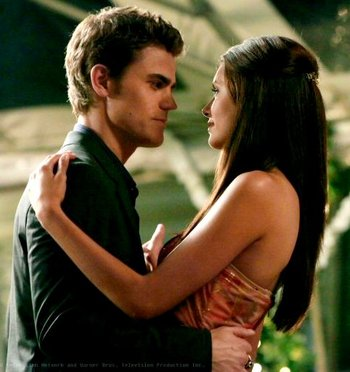 Vampire diaries paul wesley talks about stefan and for Damon y elena