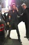 Ian Somerhalder got Mob by Girl Funs out side of live with Kelly and Michael Show in NYC