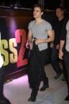 Paul llegando a la fiesta privada del estreno de la pelicula Kick-Ass 2