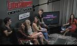 El elenco de TVd en la entrevista a Entertainment weekly en el yate de TV Guide