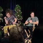Panel Zach y Michael día 1