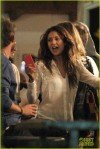 *EXCLUSIVE* Nina Dobrev and Nathaniel Buzolic enjoy a night out with friends **USA ONLY**