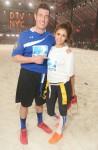 Nina con Jesse Palmer