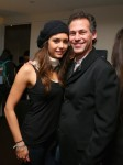 Nina con el fundador de GBK  Gabin Keilly
