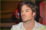 *EXCLUSIVE* Ian Somerhalder enjoys the nightlife in Brazil